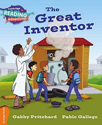 The Great Inventor Orange Band By Gabby Pritchard