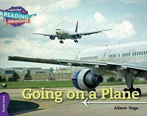 Going on a Plane Purple Band By Alison Sage