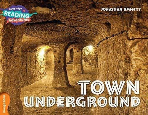 Town Underground Orange Band By Jonathan Emmett