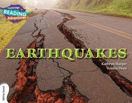 Earthquakes White Band By Kathryn Harper