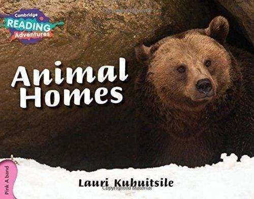 Animal Homes Pink A Band By Lauri Kubuitsile