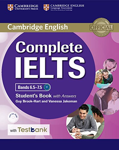 Complete IELTS Bands 6.5-7.5 Student's Book with answers with CD-ROM with Testbank By Guy Brook-Hart