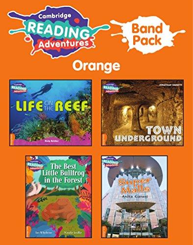 Cambridge Reading Adventures Orange Band Pack of 8 By Ian Whybrow