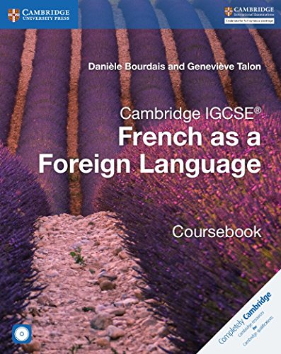Cambridge IGCSE (R) and O Level French as a Foreign Language Coursebook with Audio CDs (2) von Daniele Bourdais