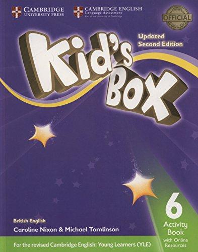 Kid's Box Level 6 Activity Book with Online Resources British English By Caroline Nixon