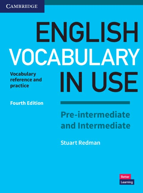English Vocabulary in Use Pre-intermediate and Intermediate Book with Answers By Stuart Redman