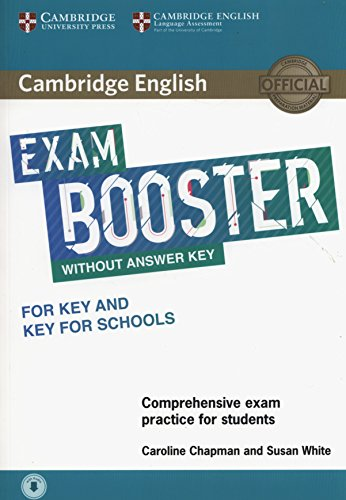 Cambridge English Exam Booster for Key and Key for Schools without Answer Key with Audio By Caroline Chapman