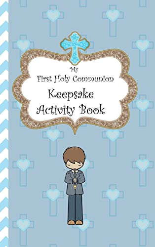 My First Holy Communion Keepsake Activity Book By Avril O'Reilly