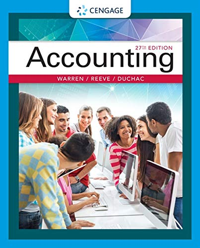 Accounting By Carl Warren (University of Georgia, Athens)