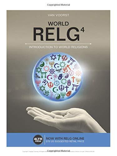 RELG By Robert Van Voorst (Western Theological Seminary, Holland, Michigan)