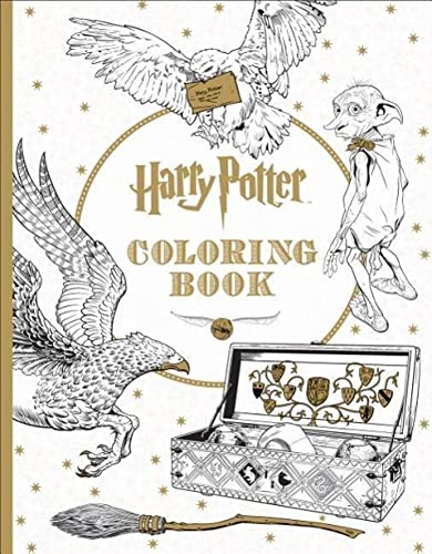 Harry Potter Coloring Book By Scholastic