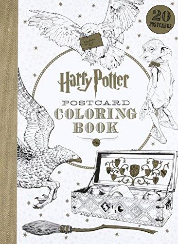 Harry Potter Postcard Coloring Book von Scholastic