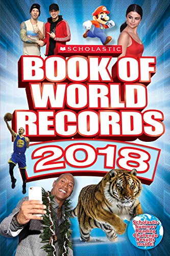 Scholastic Book of World Records 2018 By Cynthia O'Brien