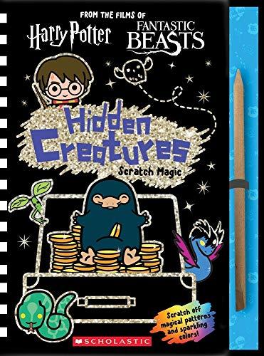 Wizarding World: Hidden Creatures Scratch Magic By Scholastic