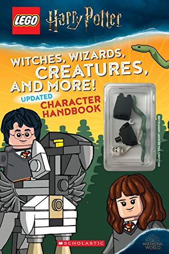 Witches, Wizards, Creatures and More! Updated Character Handbook (Lego Harry Potter) By Samantha Swank
