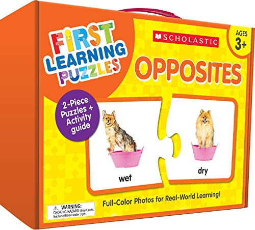 First Learning Puzzles: Opposites von Scholastic