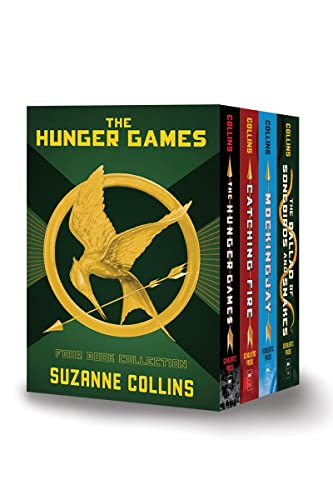 The Hunger Games: Four Book Collection By Suzanne Collins