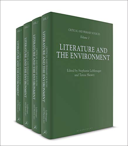 Literature and the Environment By Professor Stephanie LeMenager (University of Oregon, USA)