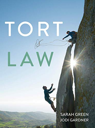 Tort Law By Sarah Green