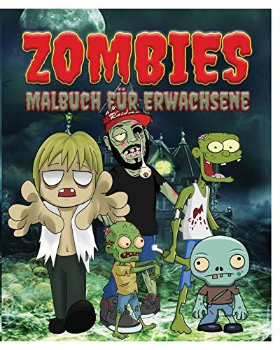 Zombies Malbuch Fur Erwachsene By Jason Potash