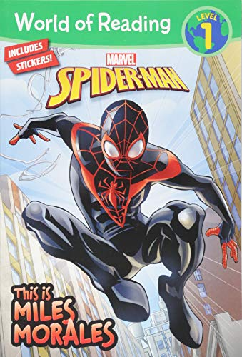 World Of Reading: This Is Miles Morales By Created by Marvel Press Book Group