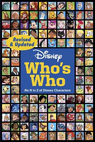 Disney Who's Who By Disney Books