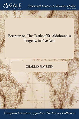 Bertram By Charles Maturin