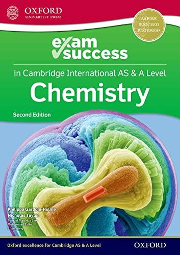 Cambridge International AS & A Level Chemistry: Exam Success Guide By Philippa Gardom Hulme