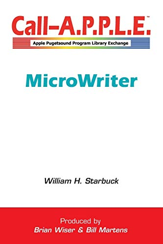 MicroWriter By William Starbuck