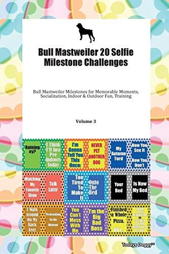 Bull Mastweiler 20 Selfie Milestone Challenges Bull Mastweiler Milestones for Memorable Moments, Socialization, Indoor & Outdoor Fun, Training Volume 3 By Todays Doggy