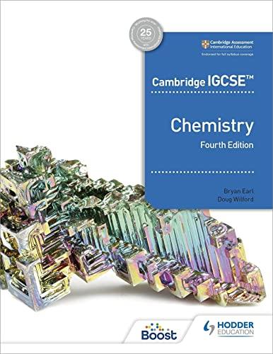 Cambridge IGCSE (TM) Chemistry 4th Edition By Bryan Earl