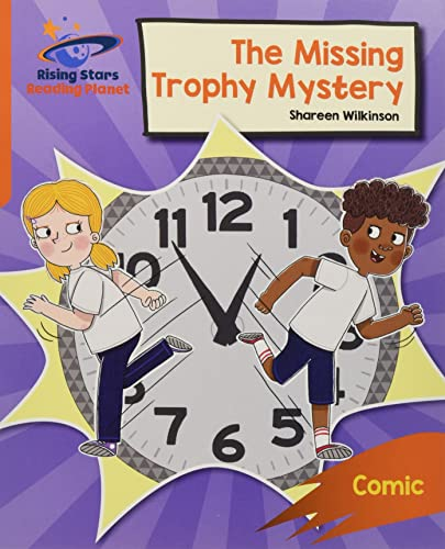 Reading Planet: Rocket Phonics - Target Practice - The Missing Trophy Mystery - Orange By Abigail Steel