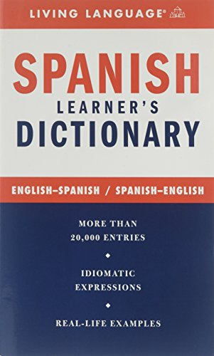 Spanish Complete Course Dictionary By Living Language