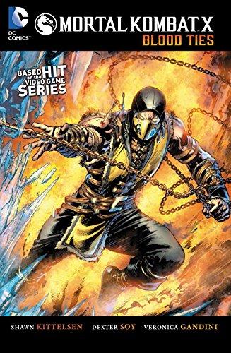 Mortal Combat X: Blood Ties By Shawn Kittelsen