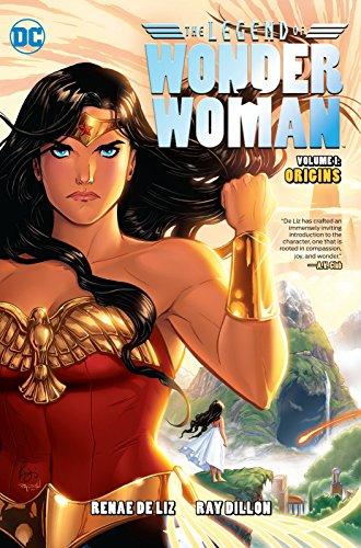 The Legend Of Wonder Woman Origins By Renae De Liz