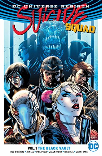Suicide Squad Vol. 1 The Black Vault (Rebirth) By Jimmy Palmiotti