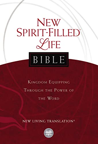 NLT, New Spirit-Filled Life Bible, Hardcover By General editor Jack W. Hayford
