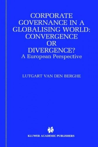 convergence and international corporate governance