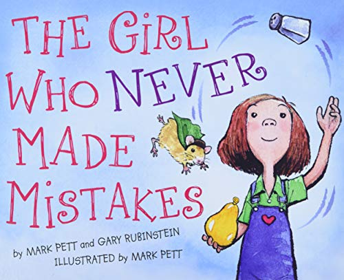 The Girl Who Never Made Mistakes von Mark Pett