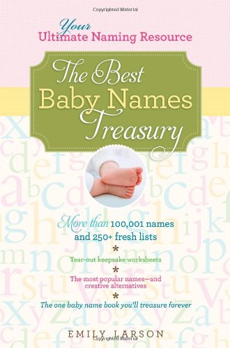 Best Baby Names Treasury 2012 By Emily Larson