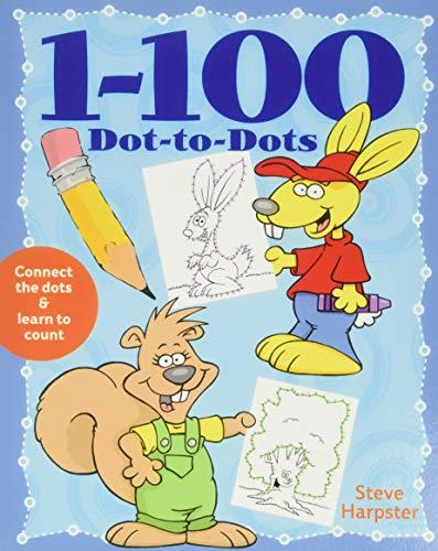 1-100 Dot-to-Dots by Steve Harpster