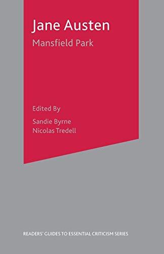 Jane Austen-Mansfield Park By Sandie Byrne