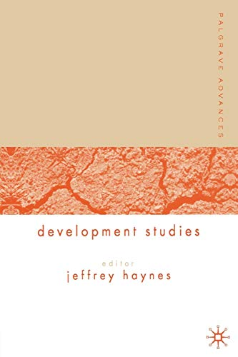 Palgrave Advances in Development Studies By Jeff Haynes