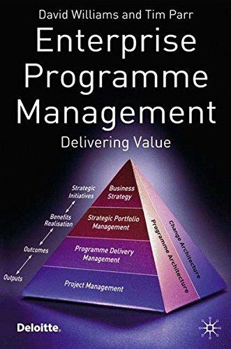 Enterprise Programme Management By David Williams, Ph.D.