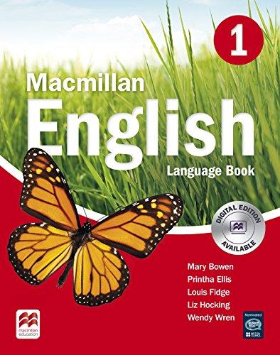 Macmillan English 1: Language Book By Wendy Wren