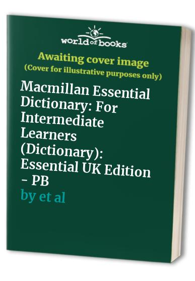 Macmillan Essential Dictionary By Michael Rundell