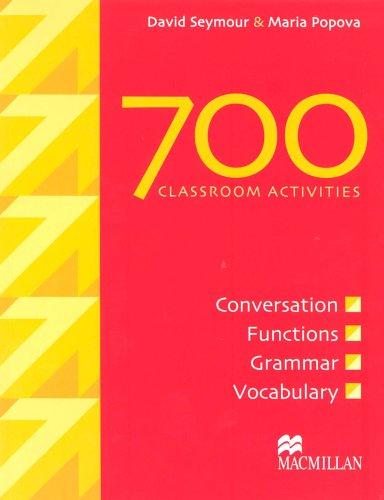 700 Classroom Activities By David Seymour