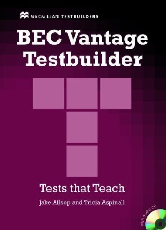 Bec Vantage Testbuilder & CD Pk By Jake Allsop