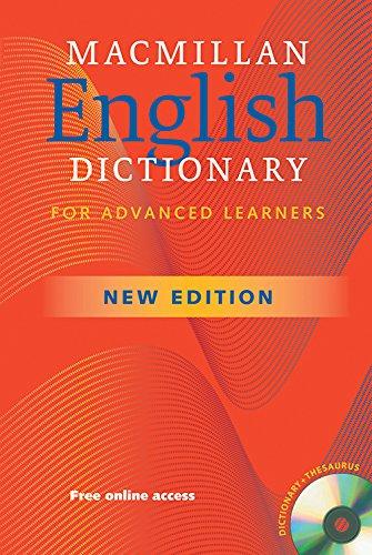 Macmillan English Dictionary Paperback and CD Pack British English 2nd Edition By Macmillan Educ