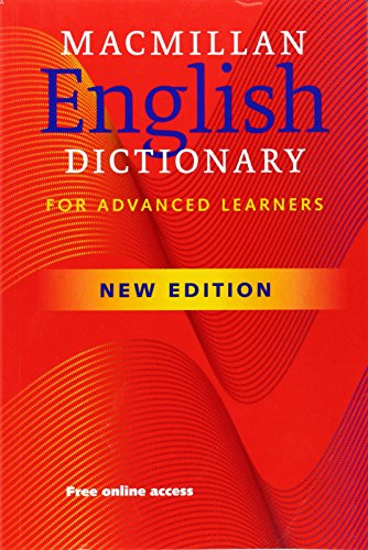 Macmillan English Dictionary for Advanced learners PB By Macmillan